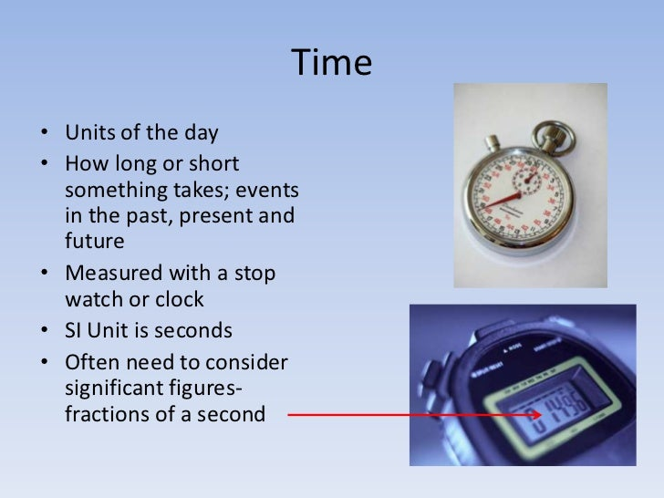 Time Measuring Instruments : Tools used for measurement