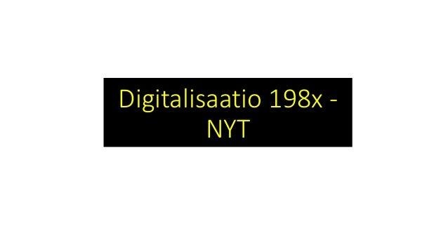 Teknologiatuettu Oppiminen Ja Opetus 4op Johdantoluento Digitalis