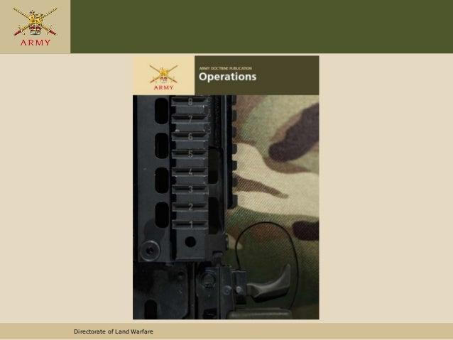 Directorate of Land Warfare