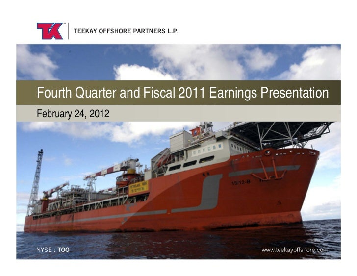 Fourth Quarter and Fiscal 2011 Earnings PresentationFebruary 24, 2012