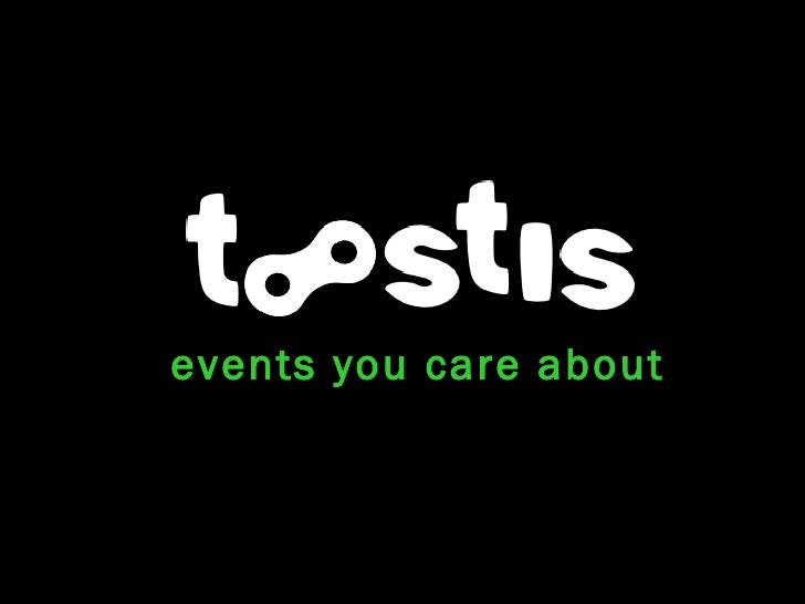 events you care about
