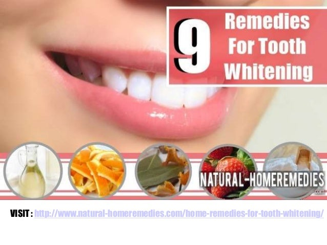 9 Home Remedies For Tooth Whitening