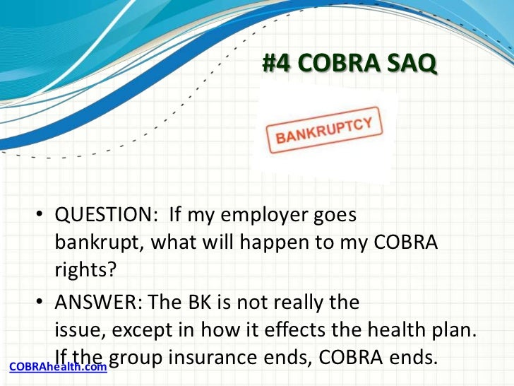 how to cancel cobra insurance