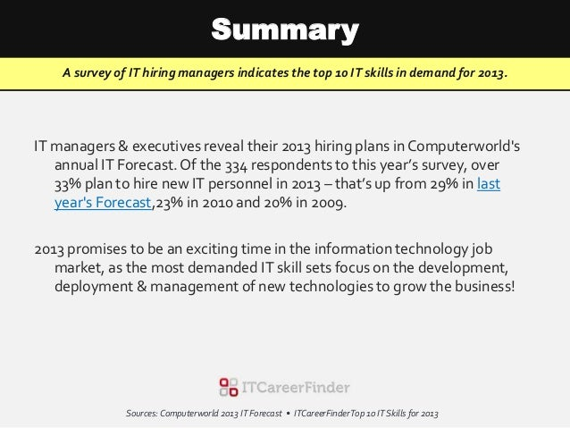 5 skills in great demand in Even though demand for big data roles and skills are on the rise wages appear to have stalled, with permanent salaries only growing 01% in the past year and contractor day rates are down 5% for the same period.