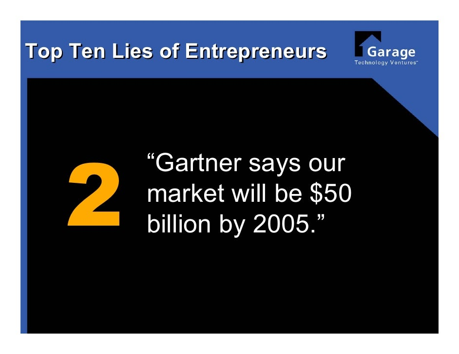 Top 10 lies of Entrepreneurs Slide 3