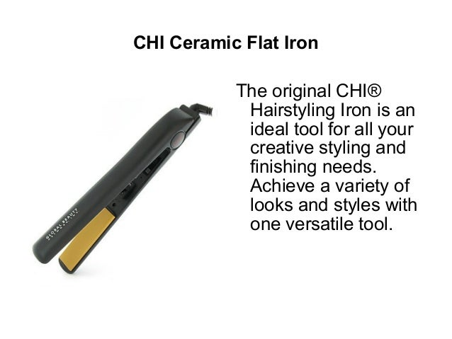 1 Solia Tourmaline Ceramic Ion Flat Iron