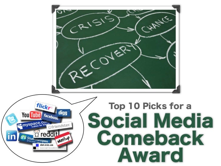 Top 10 Picks for a                       Social Media Comeback                       AwardSocial media requires skillful c...