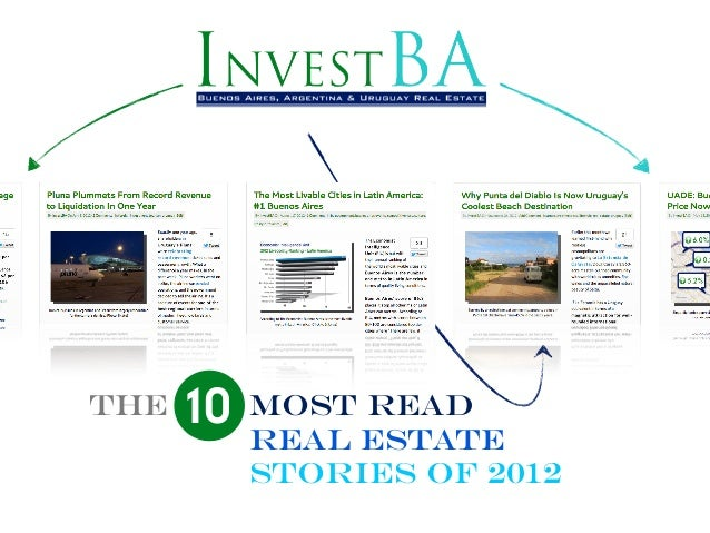 THE   10 MoST ESTATE         REAL              READ        STORIES OF 2012