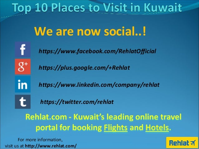 Top 10 Tourist Places to Visit in Kuwait 2597d0955