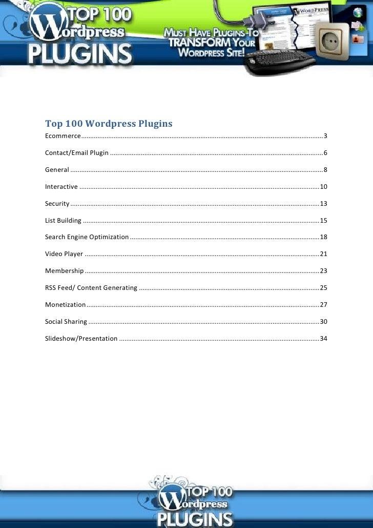 Top 100-wordpress-plugins