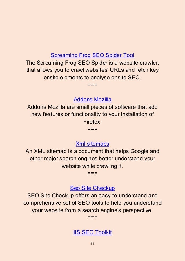 top 147 seo tools