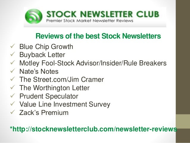 Stock options newsletters reviews