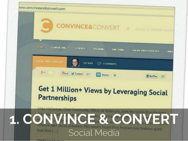 Top 30 Must Read Blogs about Content Marketing Slide 2