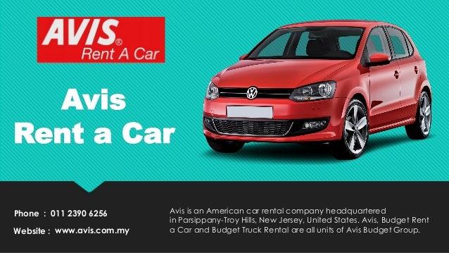 Top 5 Car Rental Malaysia Company