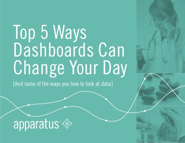 Top 5 Ways  Dashboards Can  Change Your Day  [And some of the ways you love to look at data]