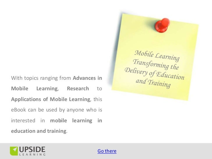 Top 50 mLearning (Mobile Learning) Resources Slide 3