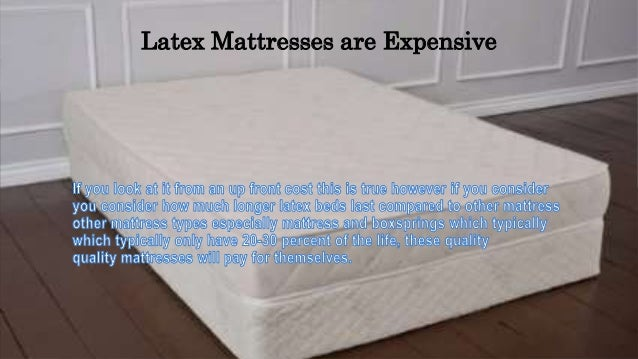 Top 7 Problems With All Natural Latex Mattresses