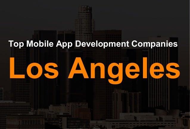 Top Mobile App Development Companies Los Angeles