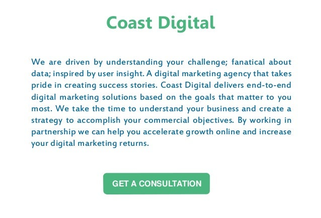 We are driven by understanding your challenge; fanatical about data; inspired by user insight. A digital marketing agency ...