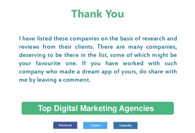 World 39 s top digital marketing agencies us uk canada for Advertising companies uk