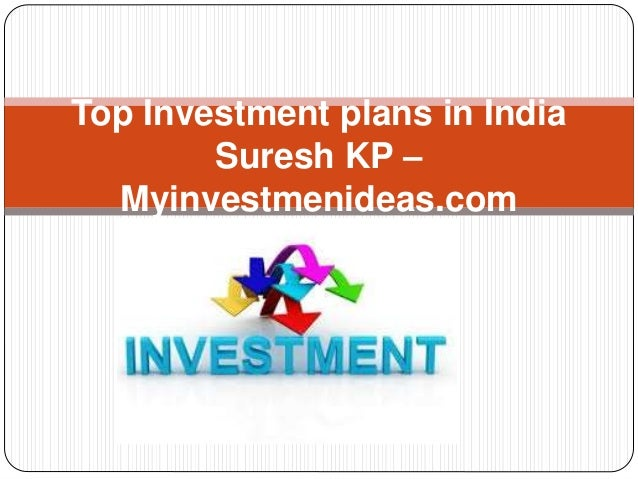 Best investments options in india 2016
