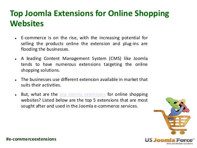 Top joomla extensions for online shopping websites for Biggest online shopping site