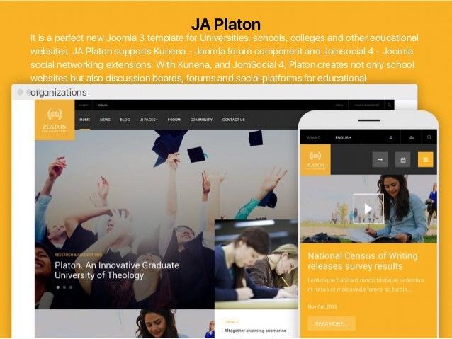Top responsive joomla templates of 2015 from joomlart ja cagox 13 pronofoot35fo Gallery