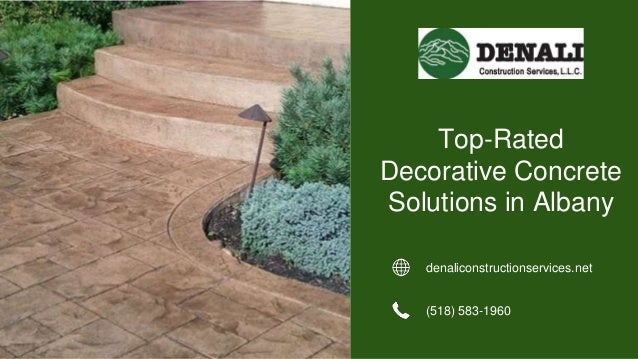 denaliconstructionservices.net (518) 583-1960 Top-Rated Decorative Concrete Solutions in Albany