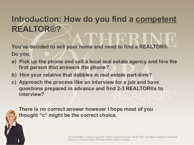 Selling A Home Series Top Ten Questions To Ask Your Realtor