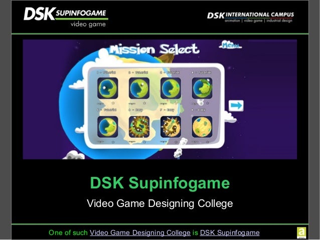 Dsk International Campus Offers Courses In Video Game Design And Game