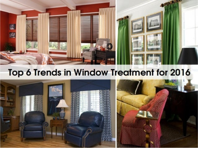 Top 6 trends in window treatment for 2016 - Latest window treatment trends ...