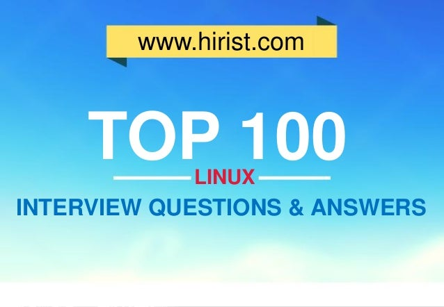 System Administrator Interview Questions Pdf