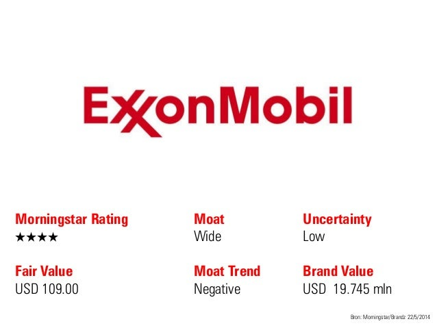 Morningstar Rating QQQQ Fair Value USD 109.00 Moat Wide Moat Trend Negative Bron: Morningstar/Brandz 22/5/2014 Uncertainty...