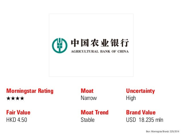 Morningstar Rating QQQQ Fair Value HKD 4.50 Moat Narrow Moat Trend Stable Bron: Morningstar/Brandz 22/5/2014 Uncertainty H...