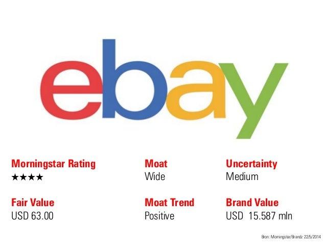 Morningstar Rating QQQQ Fair Value USD 63.00 Moat Wide Moat Trend Positive Bron: Morningstar/Brandz 22/5/2014 Uncertainty ...