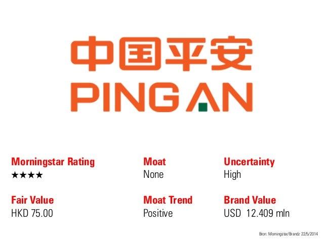 Morningstar Rating QQQQ Fair Value HKD 75.00 Moat None Moat Trend Positive Bron: Morningstar/Brandz 22/5/2014 Uncertainty ...
