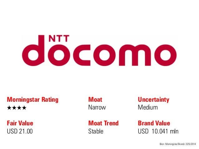 Morningstar Rating QQQQ Fair Value USD 21.00 Moat Narrow Moat Trend Stable Bron: Morningstar/Brandz 22/5/2014 Uncertainty ...