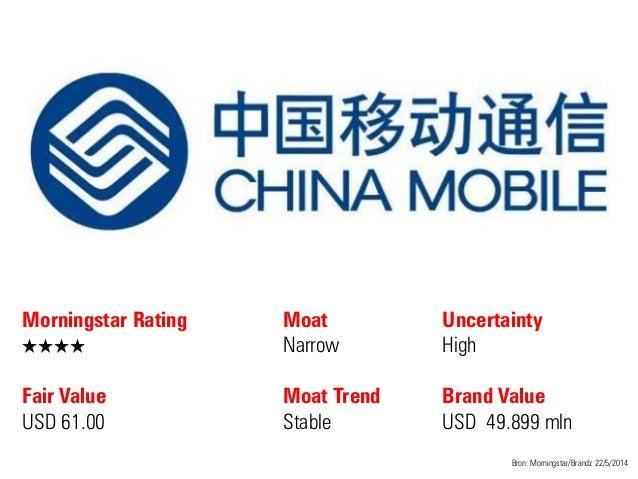 Morningstar Rating QQQQ Fair Value USD 61.00 Moat Narrow Moat Trend Stable Bron: Morningstar/Brandz 22/5/2014 Uncertainty ...