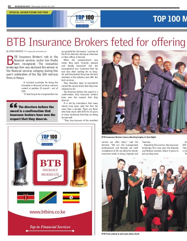 Top Insurance Brokers Kenya