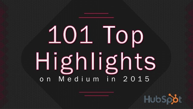 Top 100 Quotes From Medium In 2015
