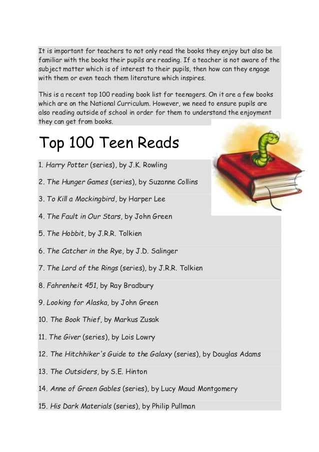 Top 100 Teen Books