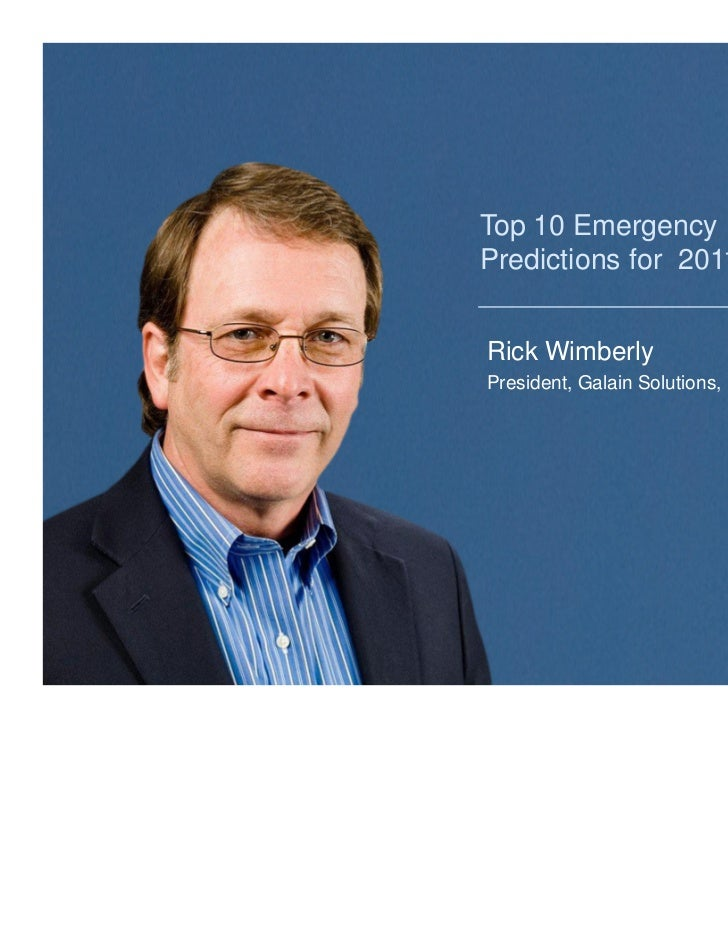 Everbridge Webinar Top 10 Emergency Notification
