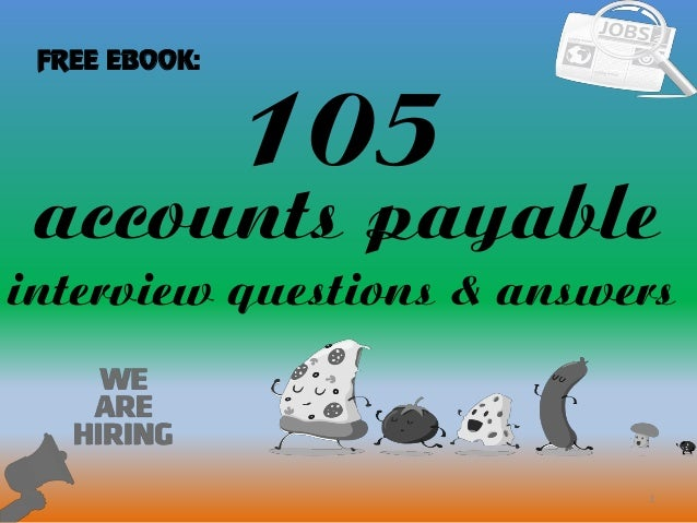105 accounts payable interview questions and answers