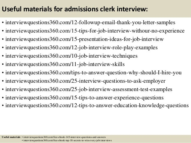 interview questions and answers examples