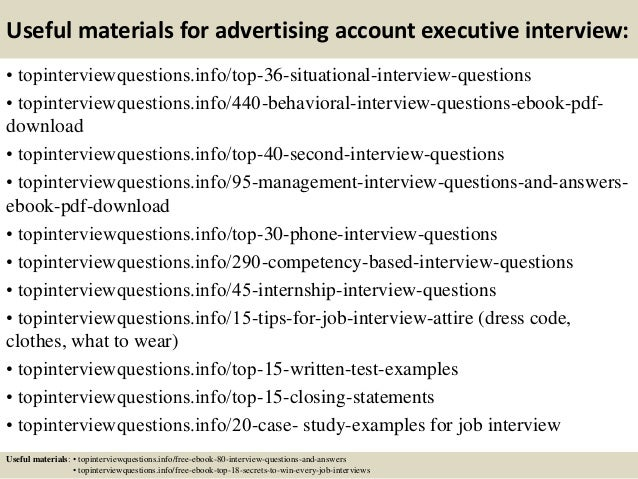 12 useful materials for advertising account executive