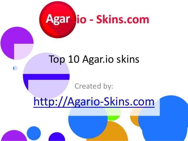 Top10 Agar io skins - Most popular Agario skins of 2015