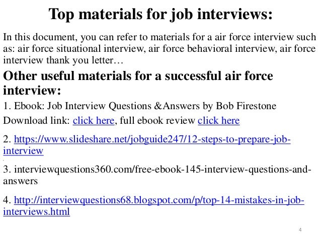 80 air force interview questions with answers fandeluxe Gallery