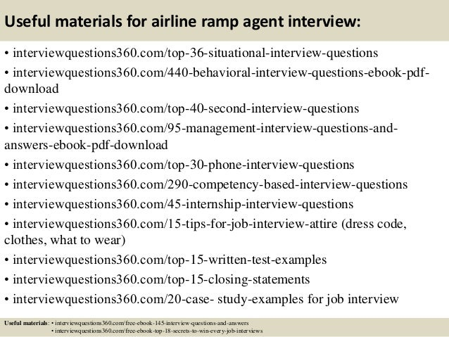 Resume Objective For Airport Ramp Agent Top 8 Travel