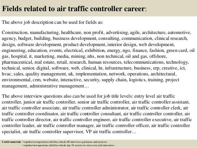 air traffic controller resume