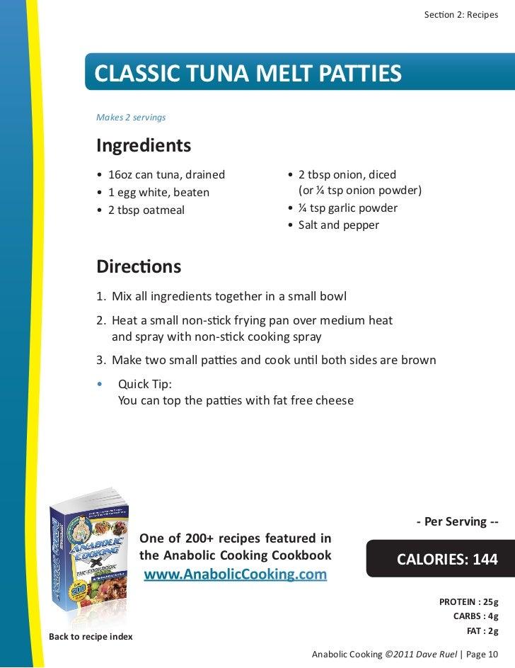 anabolic cookbook protein bars
